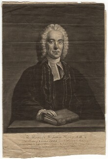 James Hervey, by John Dixon, published by  Carington Bowles, after  John Michael Williams - NPG D3018