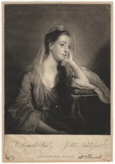 Hannah Horneck (née Triggs), by James Macardell, after  Sir Joshua Reynolds - NPG D3029