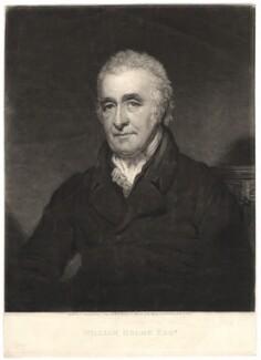 William Holme, by William Ward, after  Thomas Stewardson - NPG D3036