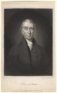 David Holt, by Samuel William Reynolds Jr, after  Charles Allen Duval - NPG D3037
