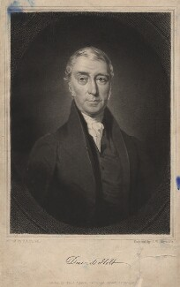 David Holt, by Samuel William Reynolds Jr, after  Charles Allen Duval - NPG D3038