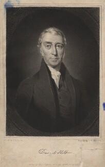 David Holt, by Samuel William Reynolds Jr, after  Charles Allen Duval - NPG D3038
