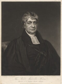 Melville Horne, by Samuel William Reynolds, after  Henry Wyatt - NPG D3040