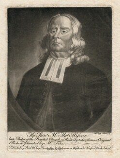 Thomas Hiscox, by and published by Samuel Okey, published by  Charles Reak, after  Robert Feke - NPG D3041