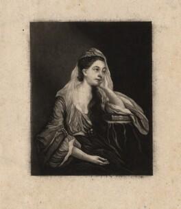 Hannah Horneck (née Triggs), after Sir Joshua Reynolds - NPG D3045