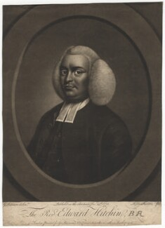 Edward Hitchin, by Robert Dunkarton, published by and after  George Paterson - NPG D3056