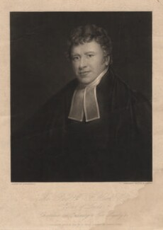 Walter Farquhar Hook, by Charles Edward Wagstaff, published by  J. Cross, after  F. Rosenberg - NPG D3077