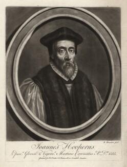 John Hooper, by Richard Houston, after  Unknown artist - NPG D3080