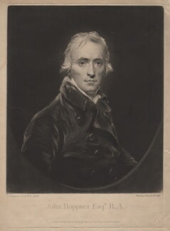 John Hoppner, by and published by Charles Turner, after  John Hoppner - NPG D3090