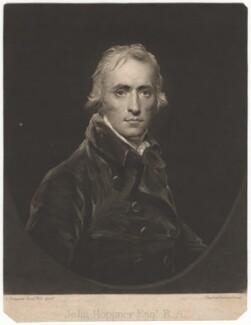 John Hoppner, by Charles Turner, after  John Hoppner, published 1805 (circa 1800) - NPG D3091 - © National Portrait Gallery, London