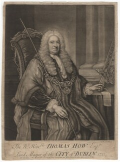 Thomas How, by John Brooks, published by  Thomas Jefferys, published by  William Herbert - NPG D3097