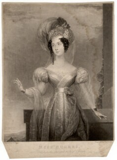 Elizabeth Hughes, by Thomas Howell Jones, after  William McCall - NPG D3103