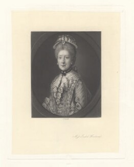 Isabel Howland, by James Scott, after  Thomas Gainsborough - NPG D3115