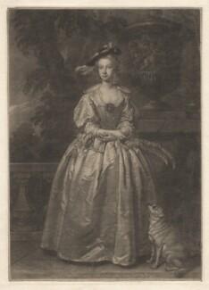 Miss Hudson, by John Faber Jr, after  Thomas Hudson - NPG D3121