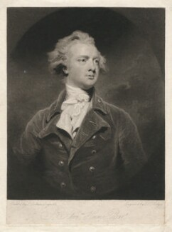Sir Abraham Hume, 2nd Bt, by Charles Howard Hodges, after  Sir Joshua Reynolds - NPG D3122