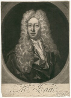 Mr Isaac, by George White, after  Louis Goupy - NPG D3138