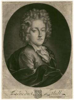 Benedict Ithell, by William Faithorne Jr - NPG D3140
