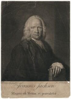 John Jackson, by James Macardell, after  Frans van der Mijn (or Myn) - NPG D3144