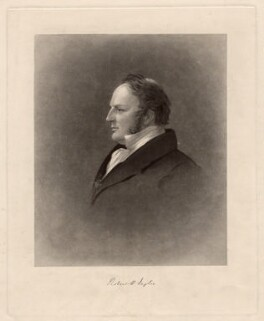 Sir Robert Harry Inglis, 2nd Bt, by Joseph Epenetus Coombs, after  Sir George Hayter - NPG D3148