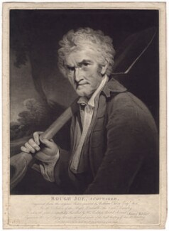 'Rough Joe, A Cottager', by James Walker, published by  William Bernard Cooke, after  William Owen - NPG D3154