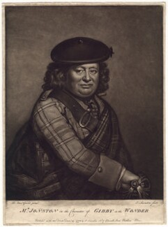 Alexander Jonston as Gibby in 'The Wonder', by and published by Joseph Saunders, after  Benjamin Vandergucht - NPG D3159