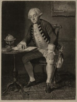 Philip Affleck, by John Young, after  Edward Penny - NPG D316