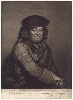 Alexander Jonston as Gibby in 'The Wonder', by and published by Joseph Saunders, after  Benjamin Vandergucht - NPG D3160