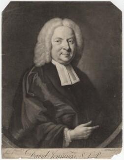 David Jennings, by James Macardell, after  W. Jones - NPG D3167