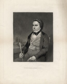 Douglas William Jerrold, by John Sartain, after a photograph by  Richard Beard, 1840s-1850s - NPG D3171 - © National Portrait Gallery, London