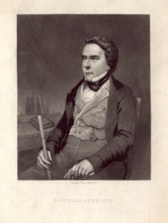 Douglas William Jerrold, by John Sartain, after a photograph by  Richard Beard - NPG D3172