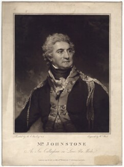 John Henry Johnstone as Sir Callaghan in 'Love a la mode', by William Ward, after  Sir Martin Archer Shee, published 1803 - NPG D3178 - © National Portrait Gallery, London