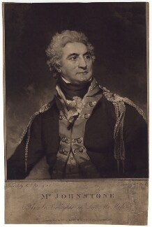 John Henry Johnstone as Sir Callaghan in 'Love a la mode', by William Ward, after  Sir Martin Archer Shee - NPG D3180
