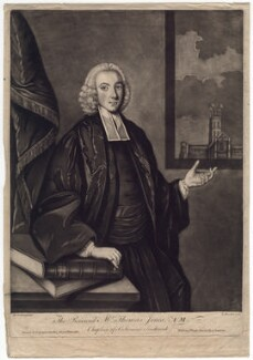 Thomas Jones, by Richard Houston, published by  Carington Bowles, after  M. Jenkin - NPG D3188