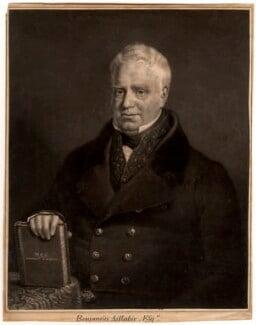 Benjamin Aislabie, by Henry Edward Dawe - NPG D319