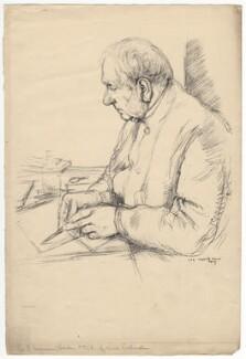 Sir Francis Seymour Haden, by William Rothenstein - NPG D3193
