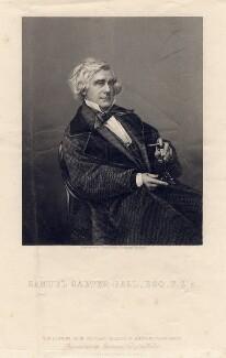Samuel Carter Hall, by Daniel John Pound, after a photograph by  John Jabez Edwin Mayall - NPG D3199