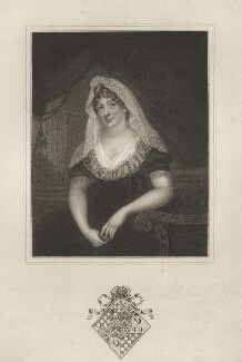 Margaret (née Burges), Countess Poulett, by Robert Cooper, after  Unknown artist - NPG D3220
