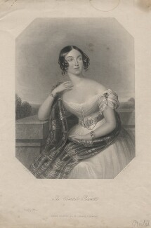 Charlotte Fanny (née Portman), Countess Poulett, by William Henry Mote, after  James Holmes - NPG D3221