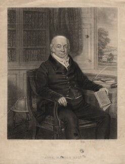 John Hanson, by John Charles Bromley, after  Benjamin De La Cour - NPG D3222