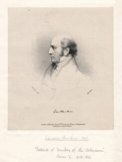Edward Hawkins, by W.D., after  Eden Upton Eddis - NPG D3234