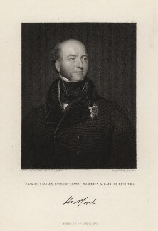 Francis Charles Seymour-Conway, 3rd Marquess of Hertford, by William Holl Sr, or by  William Holl Jr, after  Sir Thomas Lawrence - NPG D3254