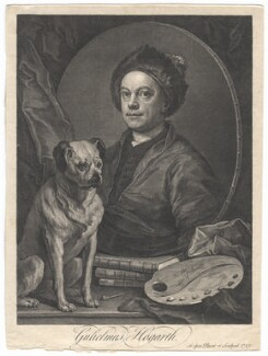 William Hogarth, by William Hogarth - NPG D3257