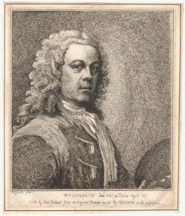 William Hogarth, by Samuel Ireland, after  William Hogarth, published 1786 - NPG D3258 - © National Portrait Gallery, London