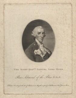 Samuel Hood, 1st Viscount Hood, by John Keyse Sherwin, after  Thomas Gainsborough, published 1783 - NPG D3265 - © National Portrait Gallery, London