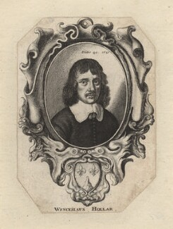 Wenceslaus Hollar, by Wenceslaus Hollar - NPG D3267