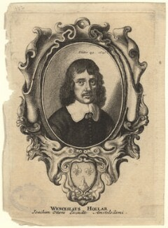 Wenceslaus Hollar, by Wenceslaus Hollar, 1647 - NPG  - © National Portrait Gallery, London