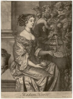 Margaret Hughes, by Robert Williams, after  Sir Peter Lely - NPG D3283