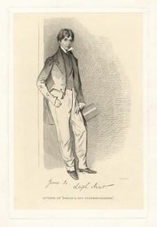 James Henry Leigh Hunt, by Daniel Maclise, published 1873 - NPG D3288 - © National Portrait Gallery, London