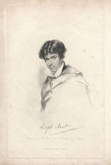 Leigh Hunt, by Henry Meyer, after  John Hayter - NPG D3289