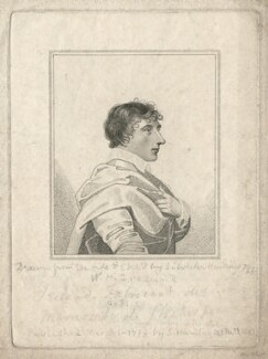 William Henry Ireland, by and published by Silvester (Sylvester) Harding - NPG D3297
